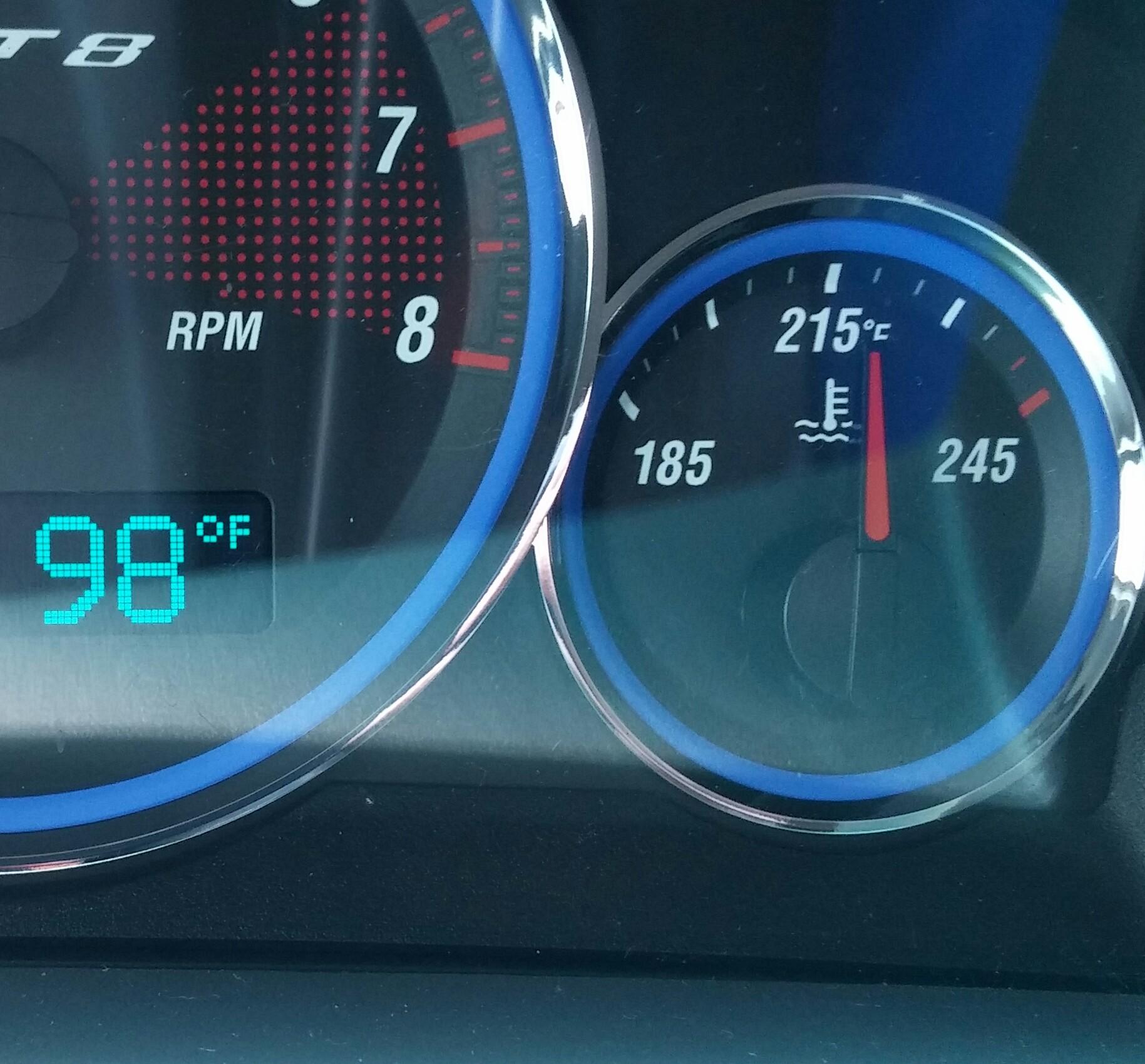 Engine Running Hot   Cherokee SRT8 Forum