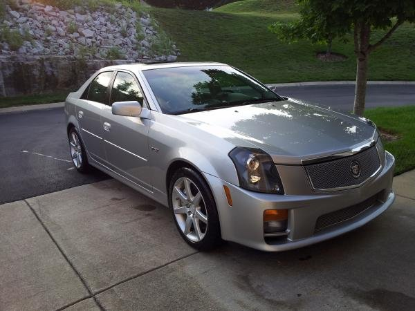 Showcase cover image for allenjanthony's 2004 Cadillac CTS-V